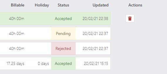 2.12.0 delete accepted and rejected timesheets